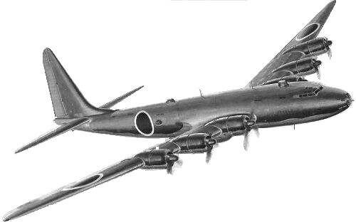 陸上爆撃機 『富嶽』<br><font size=4>Nakajima G10N</font>