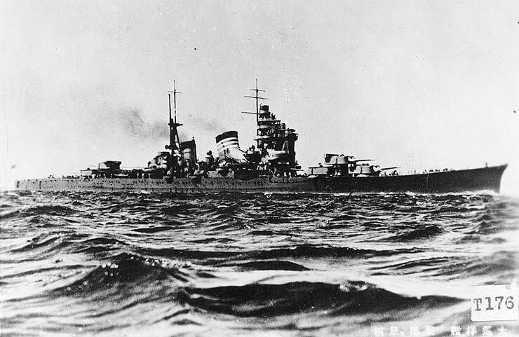 羽黒【妙高型重巡洋艦 四番艦】<br><font size=5%>HAGURO【MYOKO-class Heavy Cruiser 4th】</font>