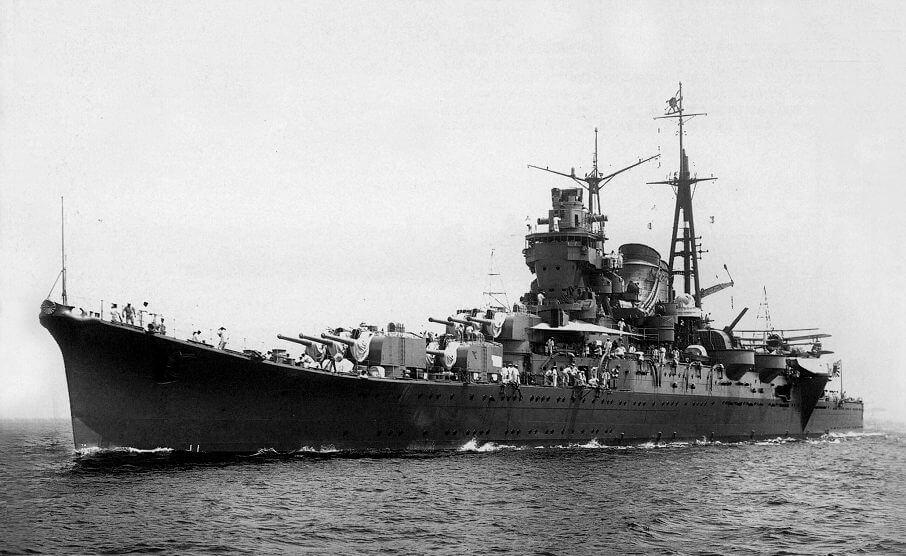 大日本帝国海軍 記録写真<br>[最上型重巡洋艦]