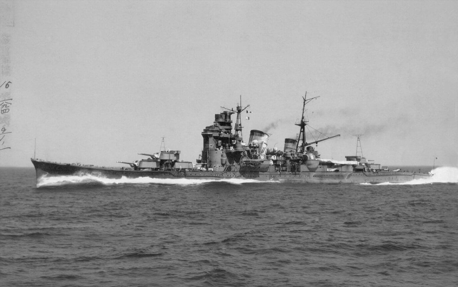 妙高【妙高型重巡洋艦 一番艦】<br><font size=5%>MYOKO【MYOKO-class Heavy Cruiser 1st】</font>